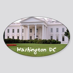 WashingtonDC_10X8_puzzle_mousepad_W Sticker (Oval)