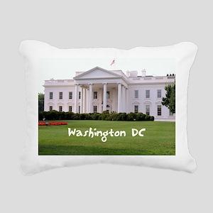 WashingtonDC_10X8_puzzle Rectangular Canvas Pillow
