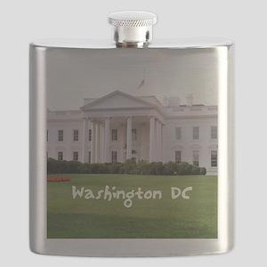 WashingtonDC_10X8_puzzle_mousepad_WhiteHouse Flask