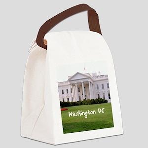 WashingtonDC_10X8_puzzle_mousepad Canvas Lunch Bag