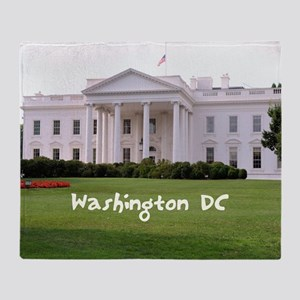 WashingtonDC_10X8_puzzle_mousepad_Wh Throw Blanket