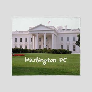 WashingtonDC_10X8_puzzle_mousepad_Wh Throw Blanket