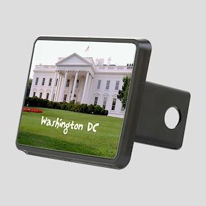 WashingtonDC_10X8_puzzle_m Rectangular Hitch Cover