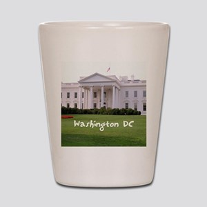 WashingtonDC_10X8_puzzle_mousepad_White Shot Glass