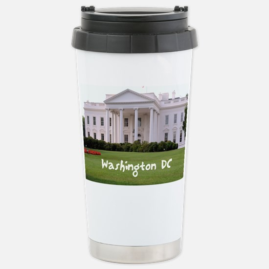 WashingtonDC_10X8_puzzl Stainless Steel Travel Mug