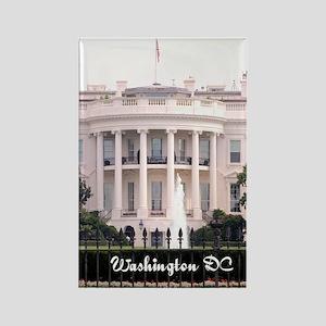 WashingtonDC_5.5x8.5_Journal_Whit Rectangle Magnet