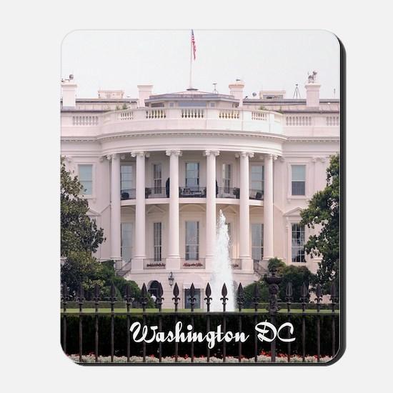 WashingtonDC_5.5x8.5_Journal_WhiteHouse Mousepad