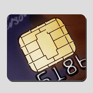 Credit card smart card Mousepad