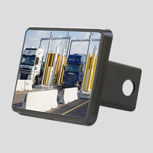 Container port security Rectangular Hitch Cover