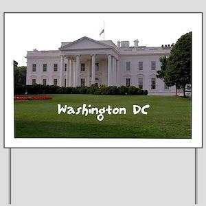 WashingtonDC_WhiteHouse1_Rectangle Yard Sign