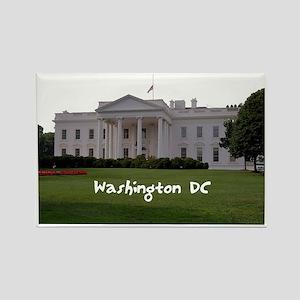 WashingtonDC_WhiteHouse1_Rectangl Rectangle Magnet