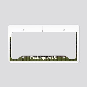 WashingtonDC_WhiteHouse2_Rect License Plate Holder