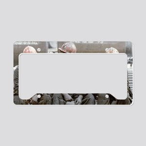 Coal miners License Plate Holder