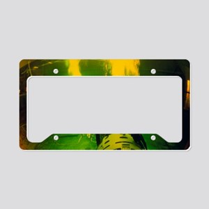 Cosmonauts in training tank a License Plate Holder