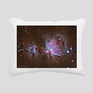 The Great Orion Nebula Rectangular Canvas Pillow