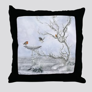 wf_shower_curtain Throw Pillow