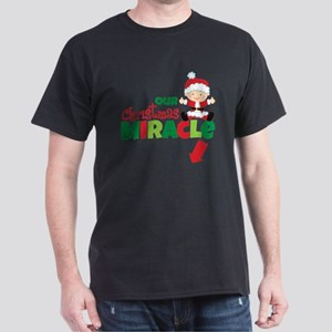 Our Christmas Miracle Dark T-Shirt