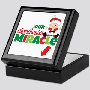 Our Christmas Miracle Keepsake Box