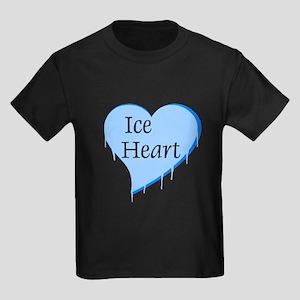 Ice Heart Kids Dark T-Shirt