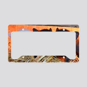 3 Little Pigs License Plate Holder