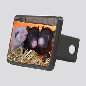 3 Little Pigs Rectangular Hitch Cover