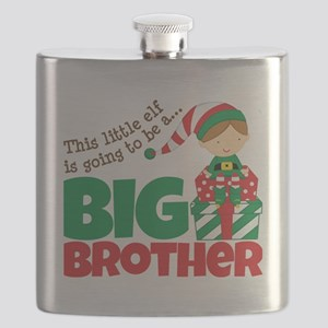 Elf going to be a Big Brother Flask