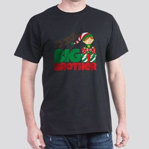Elf going to be a Big Brother Dark T-Shirt