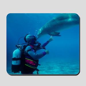 Diver communication system Mousepad
