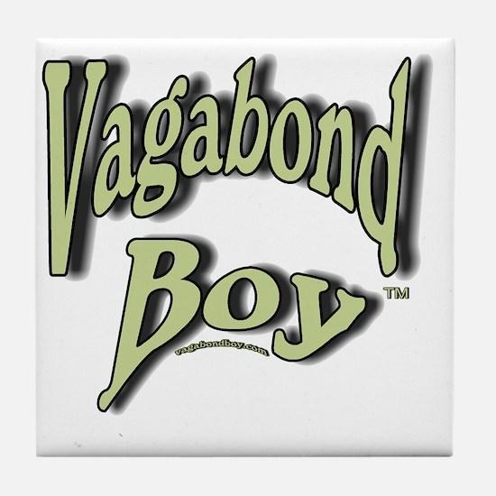 Vagabond Boy Logo Tile Coaster