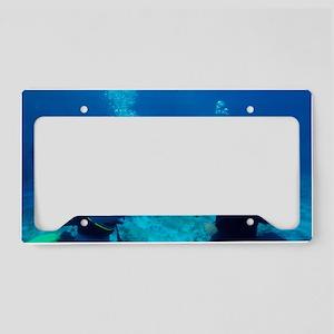 Diver communication system License Plate Holder