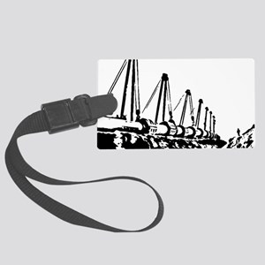 The Pipeline Large Luggage Tag