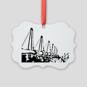The Pipeline Picture Ornament