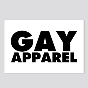 Gay Apparel Postcards (Package of 8)