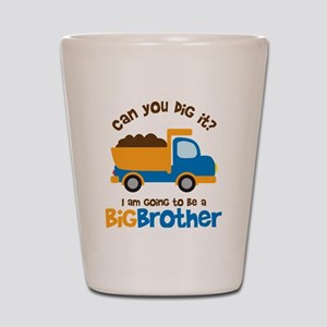 Dump truck Big Brother To Be Shot Glass