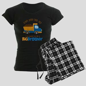 Dump truck Big Brother To Be Women's Dark Pajamas