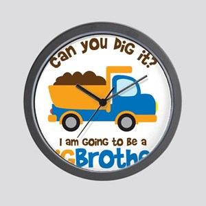 Dump truck Big Brother To Be Wall Clock