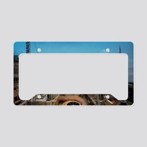 Dnieper hydroelectric plant c License Plate Holder