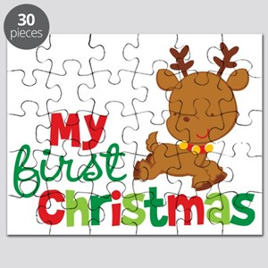 First Christmas Puzzles Cafepress