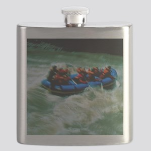 White water rafting Flask