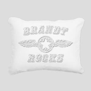 BRANDT ROCKS Rectangular Canvas Pillow