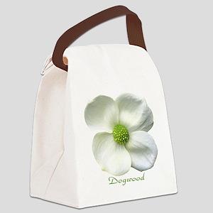 Flower Dogwood Canvas Lunch Bag