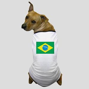 Brazillian Flag Dog T-Shirt
