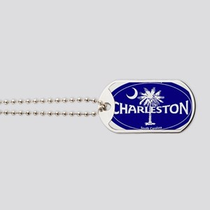 Charleston South Carolina Clear Dog Tags