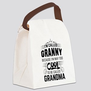 I Am Called Granny... Canvas Lunch Bag
