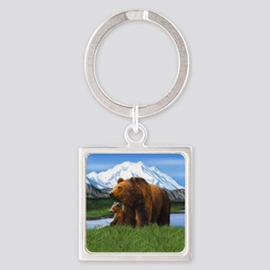 Bear Best Seller Square Keychain