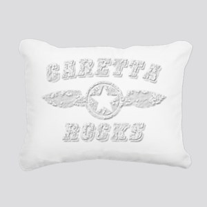 CARETTA ROCKS Rectangular Canvas Pillow