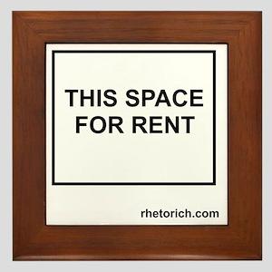 Space for Rent - Borders Framed Tile