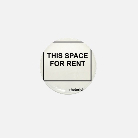 Space for Rent - Borders Mini Button