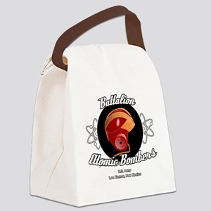 Battalion Atomic Bombers Canvas Lunch Bag