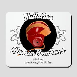 Battalion Atomic Bombers Mousepad
